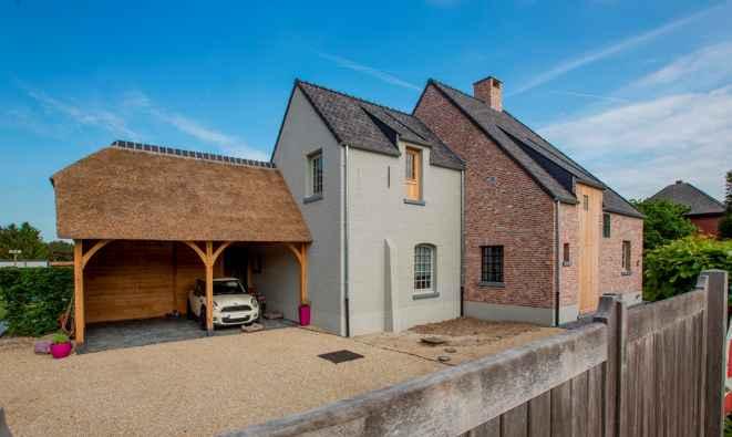 Volledige renovatie in oude kempische hoevestijl verelst - Oude huis renovatie ...